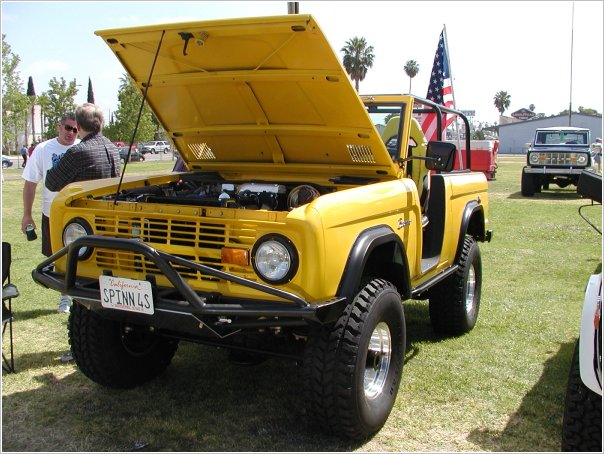 off road Bronco