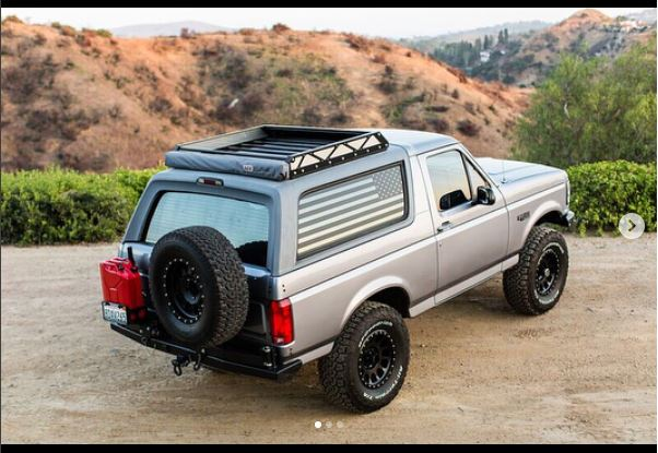 1980 1996 Bronco Rocksolid Double Rack Rear Bumper Pf821