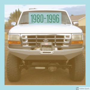1980-1996 Bronco