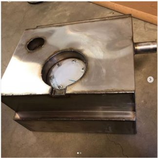 Stainless Steel Fuel Tank EFI