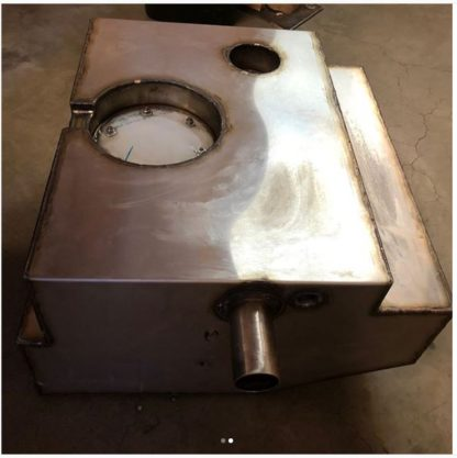 Stainless Steel EFI Fuel Tank